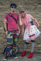 Street style at Hyper Japan 2017, Tobaco Dock, Docklands, London July 16th 2017.