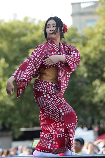 Japan Matsuri 2017 which took place in Trafalgar Square, London, 24th September 2017.