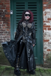 The Whitby Goth Weekend. The biannual Goth culture and fashion gathering is the 2nd largest of its kind in the world, and took place on October 27th - 29th 2017 in the North Yorkshire fishing town. The origins of the Goth festival is said to be based around the town that writer Bram Stoker penned the story of Dracula, drawing inspiration from the abbey looking down upon Whitby.