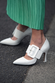 Street Style from day three of London Fashion Week AW 2018.