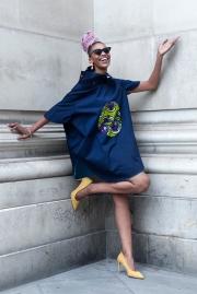 Africa Fashion Week London 2018 at the venue of Freemasons' Hall.