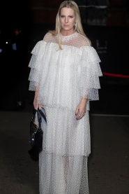 Guests arrive at The Fashion Awards 2018 by the BFC and sponsored Swarovski, and held at the Royal Albert Hall in London on December 10th 2018.