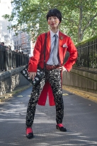 Street Style on day two of London Fashion Week SS 2020 on Friday September 13th 2019, showcasing stylish individuals London is internationally known for.