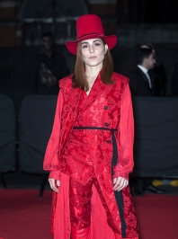"Red carper arrivals at ""The Fashion Awards 2019"", which took place at The Royal Albert Hall in London, on December 2nd 2019. Image shows actress Noomi Rapace."