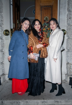 Guest's attending the Mulan Foundation Awards 2019 at the Oriental Club in London.