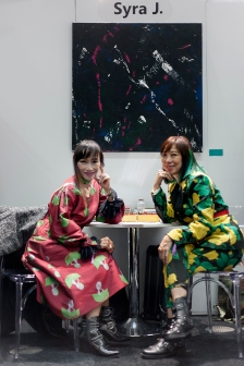 Images from SCOOP International Fashion Event on Feb 9th 2020, showcasing designers and brands for the AW 2020 season. Image shows Shery Lau, Creative Director and owner of fashion brand SYRA J.